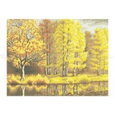 10-207 (40*60) Осенний лес. Схема для вышивки бисером Бисерок