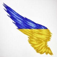 М-22008 Флаг Крыло Украины. Набор для вышивки бисером ТМ Miniart Crafts