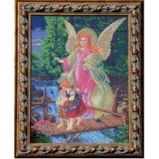АХВ (набор) Ангел Хранитель (большая). Набор для вышивки бисером БС Солес