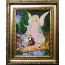 АХМ (набор) Ангел Хранитель (маленькая ). Набор для вышивки бисером БС Солес