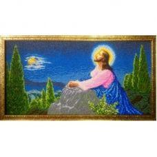 ІОГ (набор) Иисус на горе Елеонской. Набор для вышивки бисером БС Солес