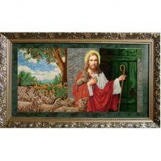 ІСД (набор) Иисус стучит в дверь. Набор для вышивки бисером БС Солес