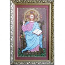 ІТ (набор) Иисус на троне. Набор для вышивки бисером БС Солес