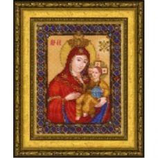 Б-1224 Икона Божьей Матери Вифлиемская. Набор для вышивки бисером Чаривна Мить