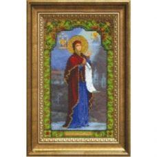 Б-1225 Икона Божьей Матери Боголюбивая. Набор для вышивки бисером Чаривна Мить