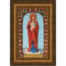 Б-1227 Икона Божией Матери Валаамская. Набор для вышивки бисером Чаривна Мить