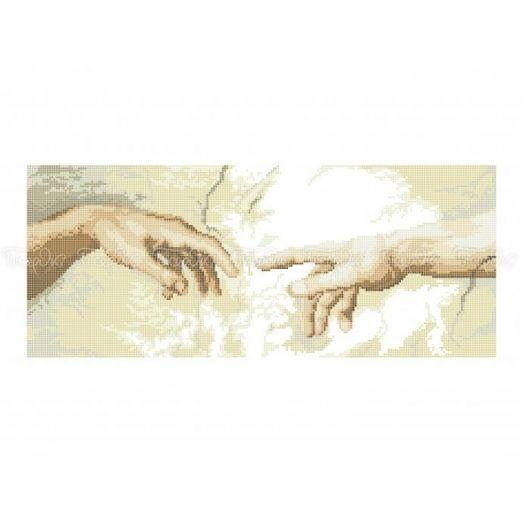 40-325 (30*40) Божественное прикосновение. Схема для вышивки бисером Бисерок