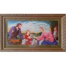 СРТ (набор) Святое семейство (тесля). Набор для вышивки бисером. БС Солес
