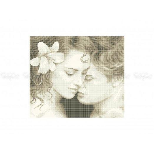 40-330 (30*40) Влюбленная пара. Схема для вышивки бисером Бисерок