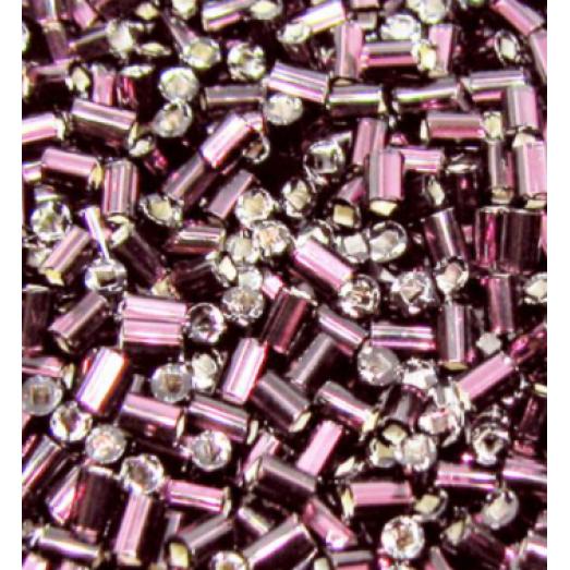 27010 Рубка Preciosa сиреневая, серебряная линия внутри