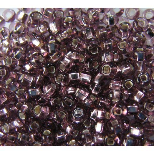 27010 Светлый фиолетовый, серебряная серединка
