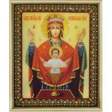 КСИ-149 Икона БМ Неупиваемая чаша. Набор для изготовления иконы со стразами ТМ Чаривна Мить