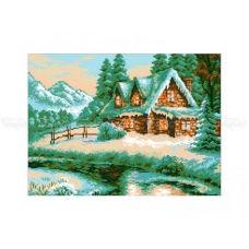 10-360 (30*40) Уютный домик. Схема для вышивки бисером Бисерок
