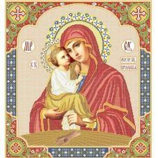 ВКР-10 Пресвятая Богородица Почаевская. Схема для вышивки бисером. Княгиня Ольга