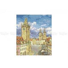 10-385 (30*40) Прага. Схема для вышивки бисером Бисерок