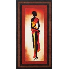 Б-076 Амака. Набор для вышивки бисером Магия канвы