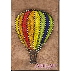 АВС-006 Воздушный шар. Набор стринг-арт ТМ Абрис Арт