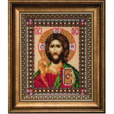 Б-069 Иисус Христос. Набор для вышивки бисером Чаривна Мить