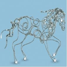 ДП-003 Волшебный конь. Набор с декоративной проволкой ТМ Чаривна Мить