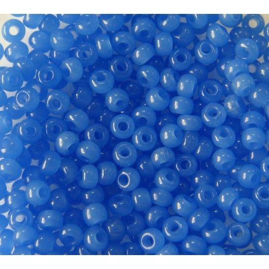 32010 Бисер полупрозрачный синий