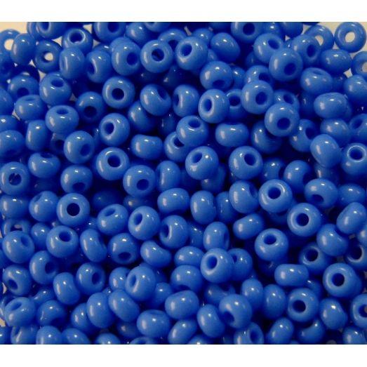 33040 Бисер не прозрачный, светлый синий, натуральный