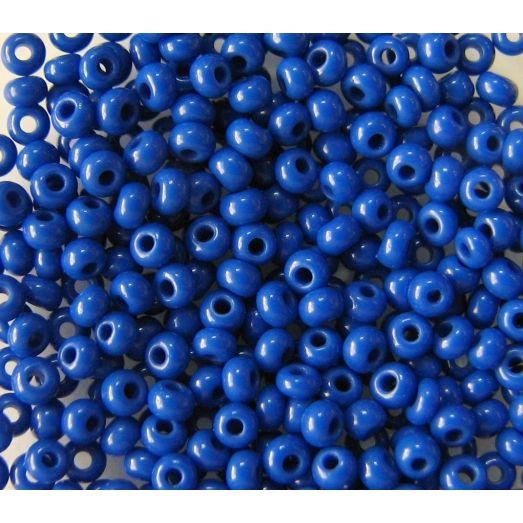 33050 Бисер не прозрачный синий