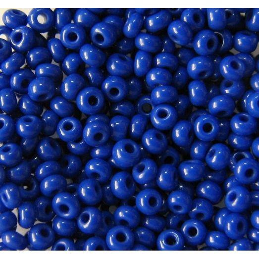 33060 Бисер не прозрачный синий