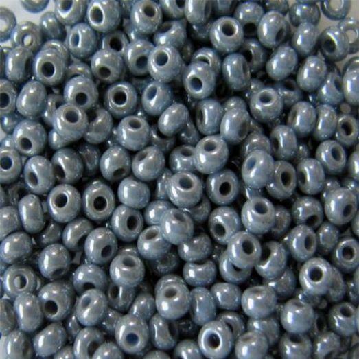 33021 Бисер Preciosa алебастр серый