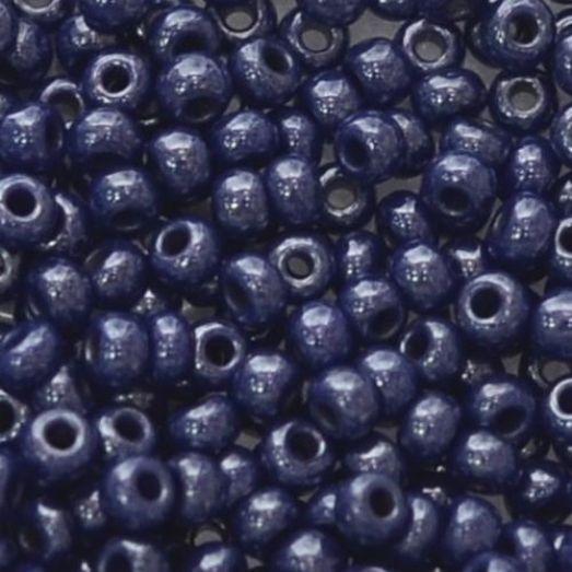 33061 Бисер Preciosa натуральный синий непрозрачный