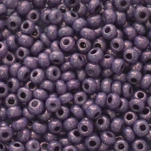 46025 Бисер Preciosa фиолетовый люстеред жемчужный
