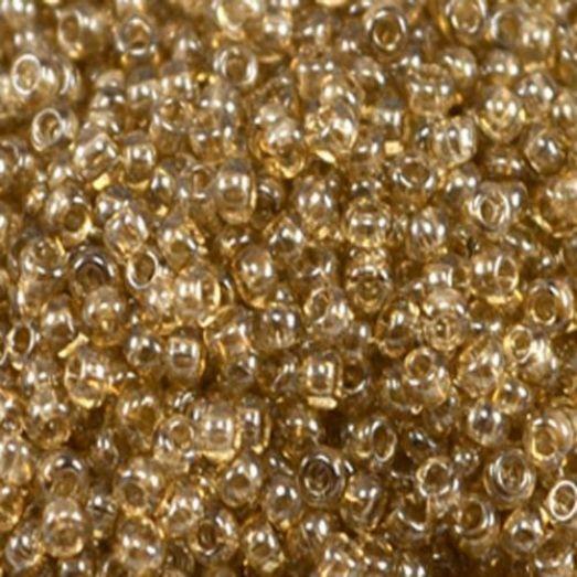 48042 Бисер Preciosa кристальный люстеред с бежево-серым прокрасом