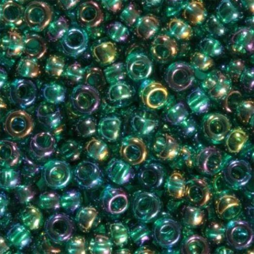 51710 Бисер Preciosa морская волна радужный прозрачный