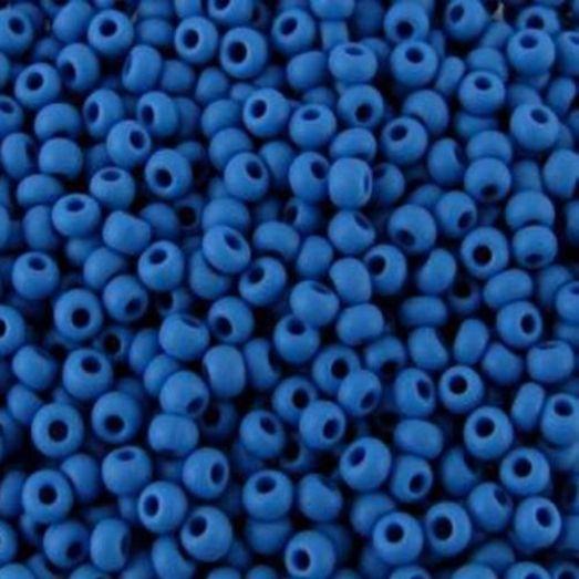 33210м Бисер Preciosa керамика синий матовый