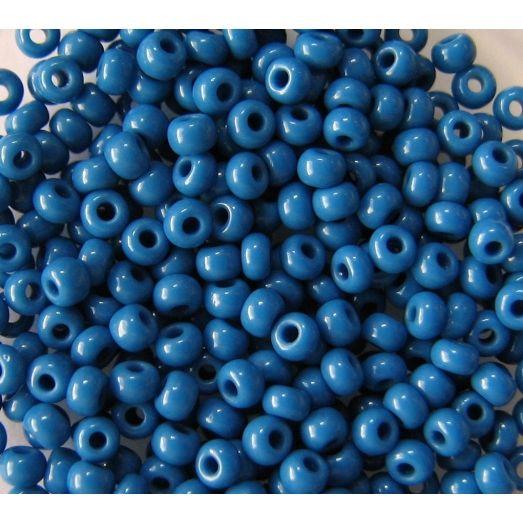 33210 Бисер не прозрачный натуральный синий