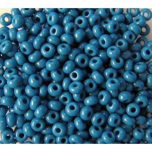 33220 Бисер не прозрачный натуральный серо-синий
