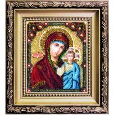 БЮ-002 Казанская икона. Набор для вышивки ювелирным бисером. ТМ Чаривна Мить