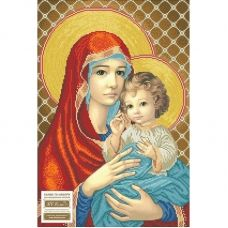 МДЧ (набор) Мадонна с младенцем (в красном). БС Солес