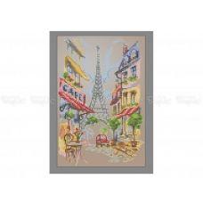10-422 (20*25) Париж. Схема для вышивки бисером Бисерок