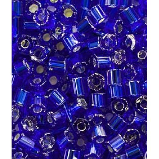 37100 Рубка Preciosa синяя, серебряная линия внутри
