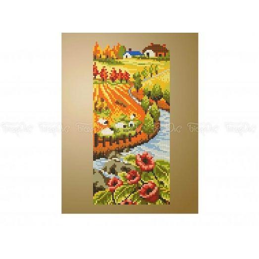 10-410 (20*25) Осень. Схема для вышивки бисером Бисерок