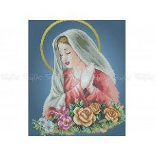 20-305 (30*40) Мария. Схема для вышивки бисером Бисерок