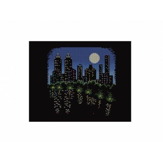 10-393 (30*40) Ночь. Схема для вышивки бисером. Бисерок