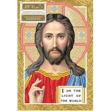 ІП (набор) Иисус Пантократор. Набор для вышивки бисером БС Солес