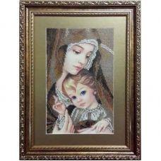 МД-с (набор) Мадонна с ребенком (сепия). БС Солес