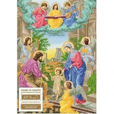 СРА (набор) Святая семья (с ангелами). Набор для вышивки бисером. БС Солес