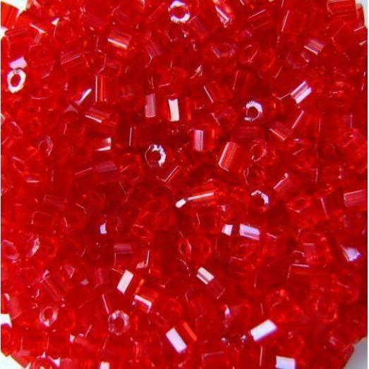 90050 Рубка Preciosa прозрачная, яркая,  красная, алая