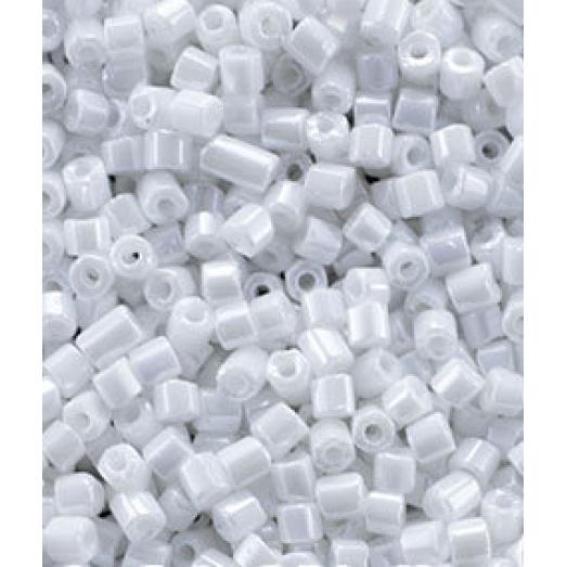 46102 Рубка Preciosa белая, непрозрачная блестящая