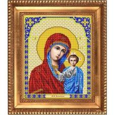 И-4002 Казанская Божия Матерь. Схема для вышивки бисером Благовест