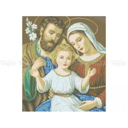 20-212 (40*60) Святое семейство. Схема для вышивки бисером Бисерок