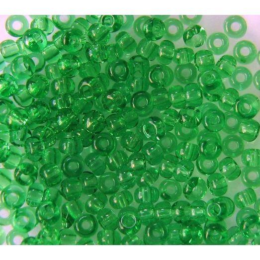 50100 Бисер прозрачный зеленый